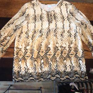 New Emma James blouse. Size large.